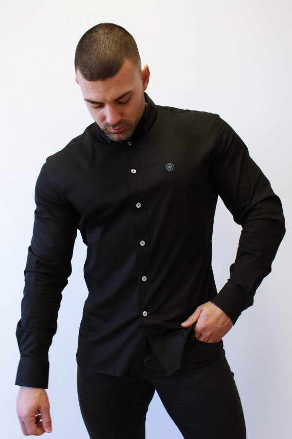 Black 4 Camisa Iron Canone