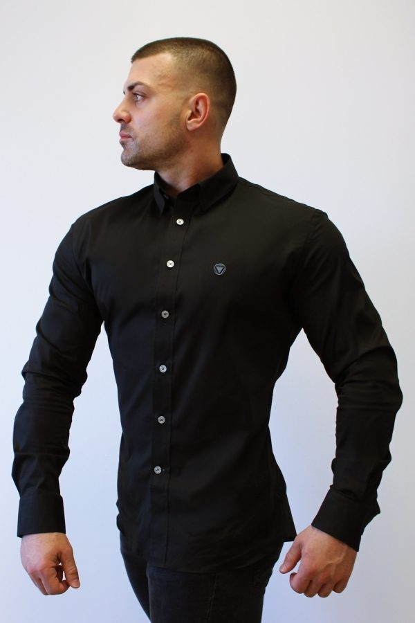 Black 3 Camisa Iron Canone