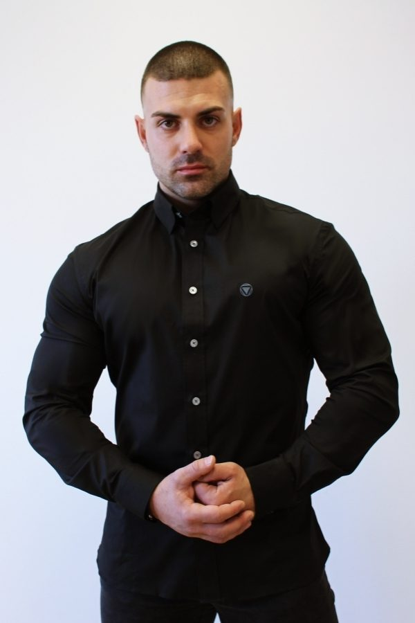 Black 2 Camisa Iron Canone