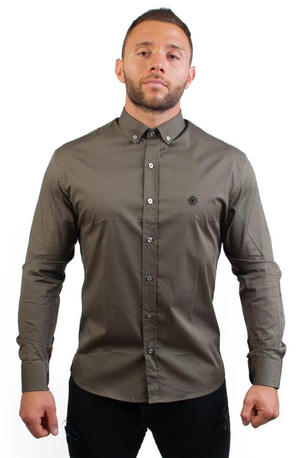 camisa canone clothing verde 2