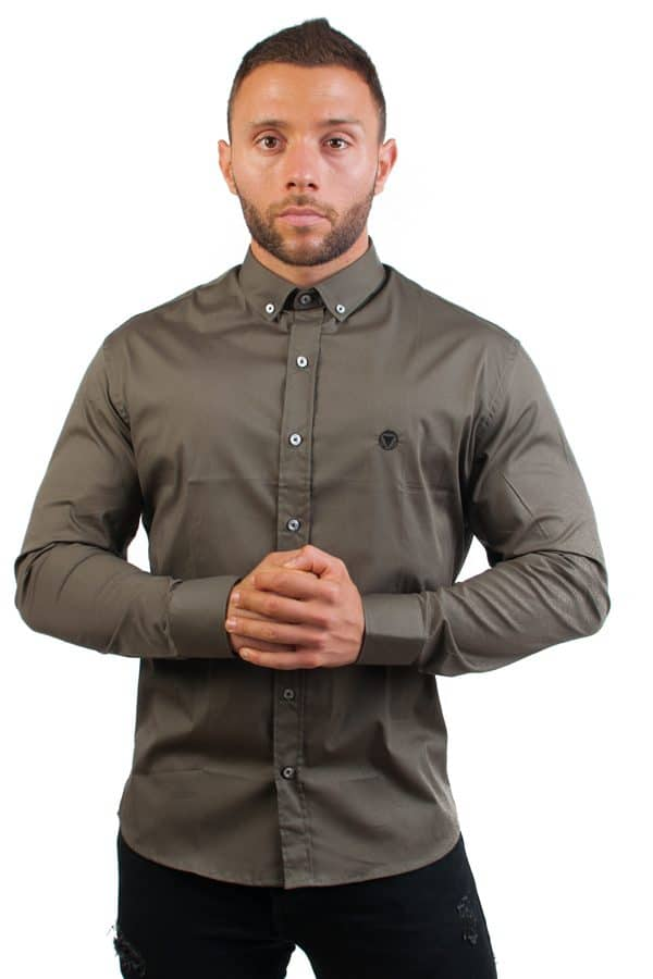 camisa canone clothing verde 3