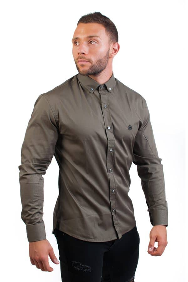 camisa canone clothing verde 5