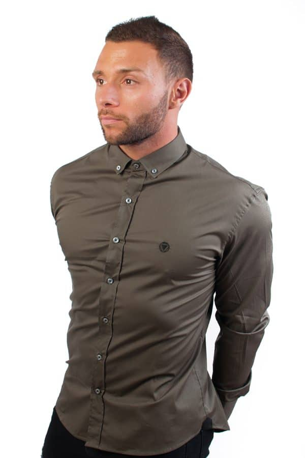 camisa canone clothing verde 7