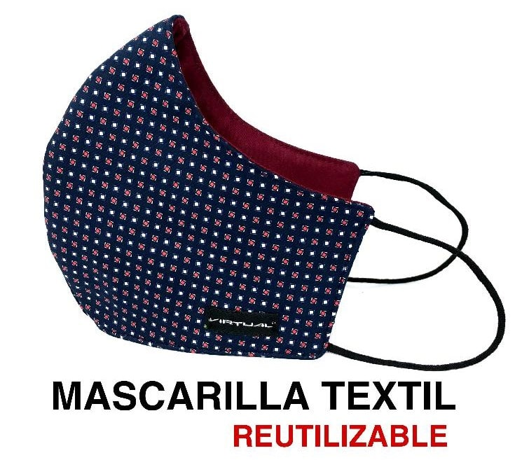 mascarilla reutilizable canone clothing